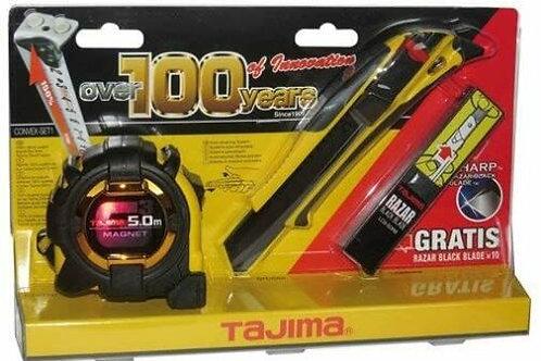 Tajima Set Quick Back Cuttermesser + G3 Lock Magnet 25 + 10x Abbrechklinge