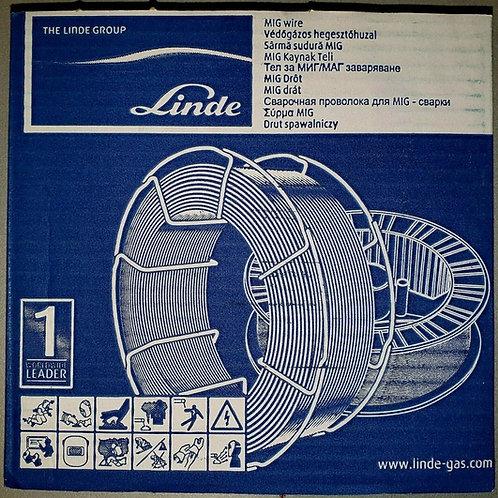 Linde Drahtelektrode G3Si1 SG2 D200 5kg TÜV/DB Zulassung [Ø0,8mm/Ø1,0mm/Ø1,2mm]
