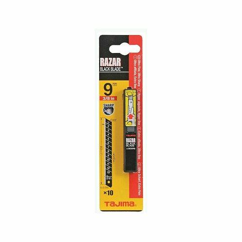 Tajima 10x Razar Black Blade Cuttermesserklinge Abbrechklinge 9mm LCB30RBC/K1