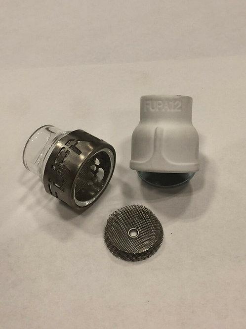 Fupa#12 - Keramik und Glasdüsen-Kit (mit Titancover) - FU12HKC