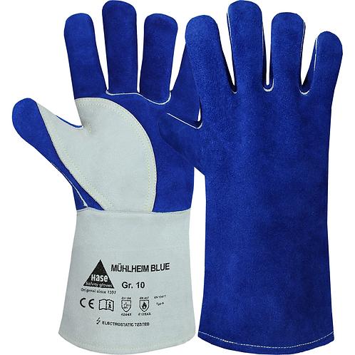 Schweißerhandschuhe Mühlheim Blue - verschiedene Größen