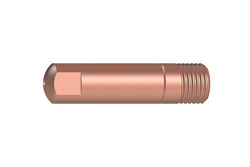 Stromdüse CuCrZr M6 x 25mm verschiedene  Ø 0,6 / 0,8 / 1,0 mm MB 15 10Stück