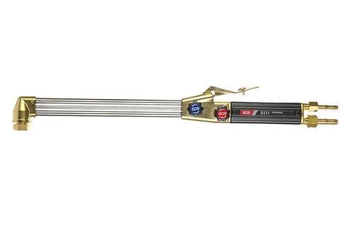 GCE X511 75° Länge=470mm Schneidbrenner Propan/Acetylen Sauerstoff