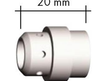 Gasverteiler Standard weiß 20,0 mm MB 24/240
