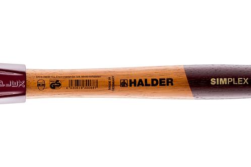 Halder SIMPLEX Schonhammer - weiß/schwarz [Ø30-80mm]