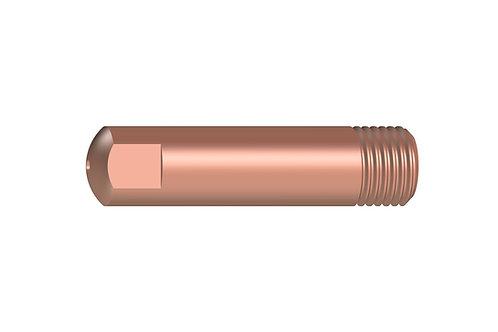 Stromdüse E-Cu M6 x 25mm  verschiedene Ø 0,6 / 0,8 / 1,0  MB 15 10 Stück