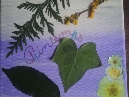 Peinture Florale par Colombe