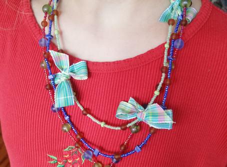 Le collier façon Marie-Antoinette de Colombe