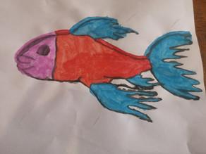 Défi art poisson extraordinaire