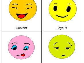 Cartes pour identifier les émotions