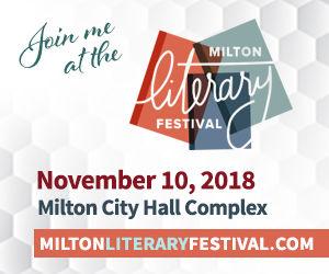 Milton Literary Festival Banner 300x250_