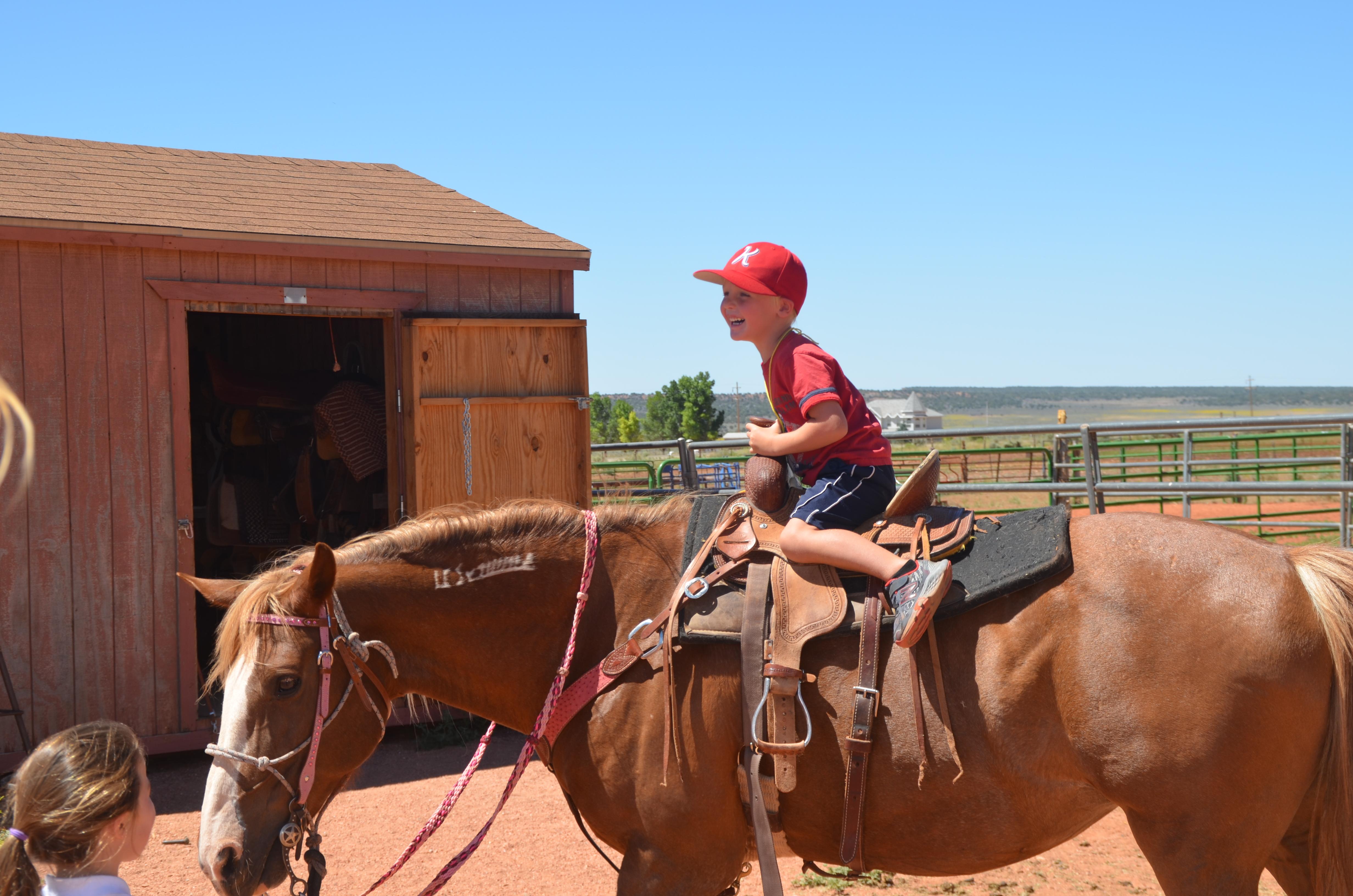 SCC horse ride