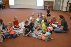 SSC kids sitting