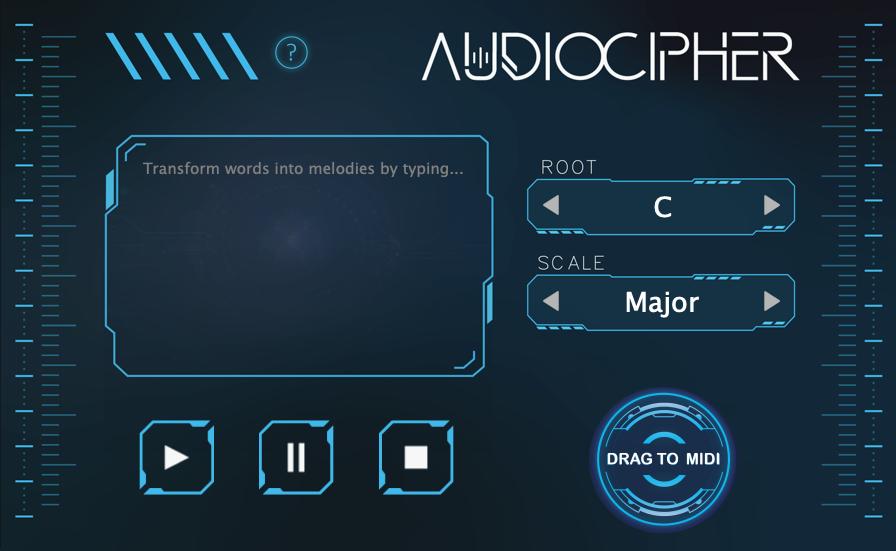 AudioCipher - Random Note Generator