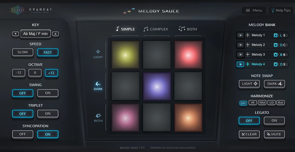 Melody Sauce app