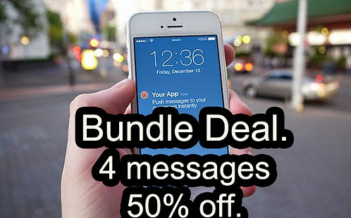 Push Notification Bundle Deal