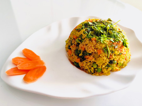 Quinoa Poha - Super Healthy and Great for Weight Loss