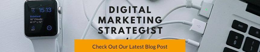Banner Blog Post Example: Digital Marketing Strategist