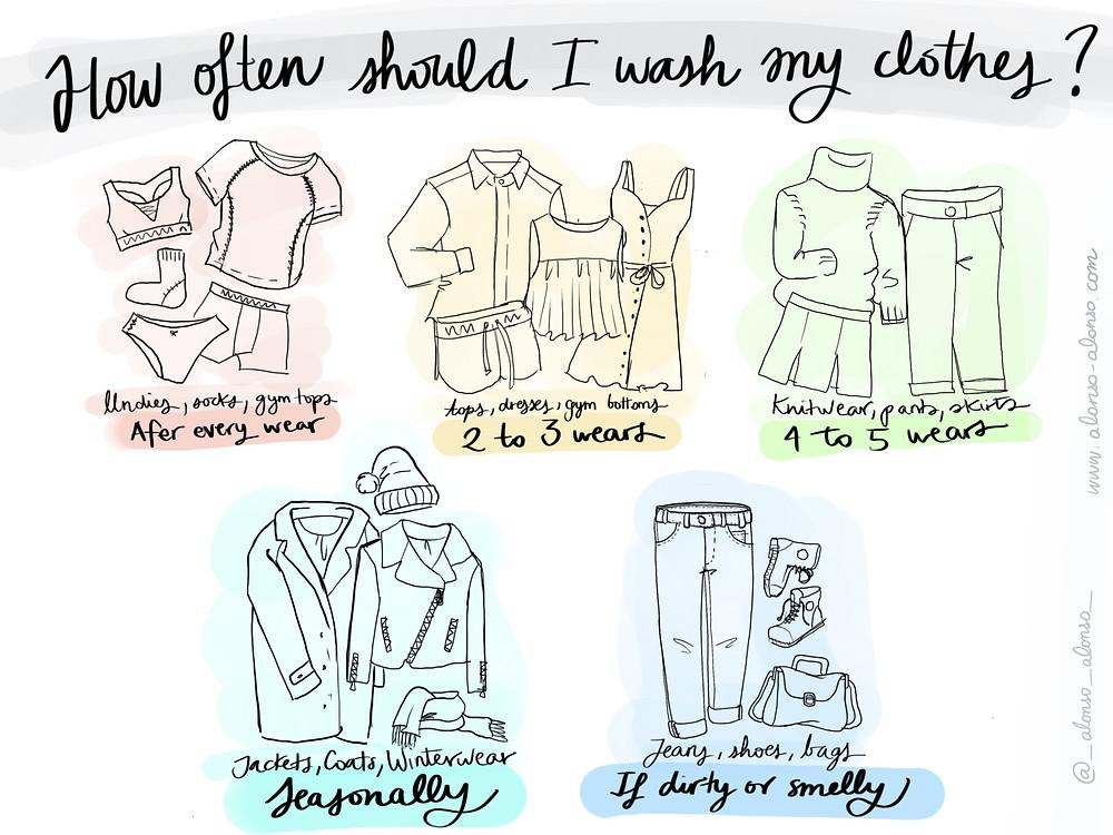 how often should I wash my clothes?