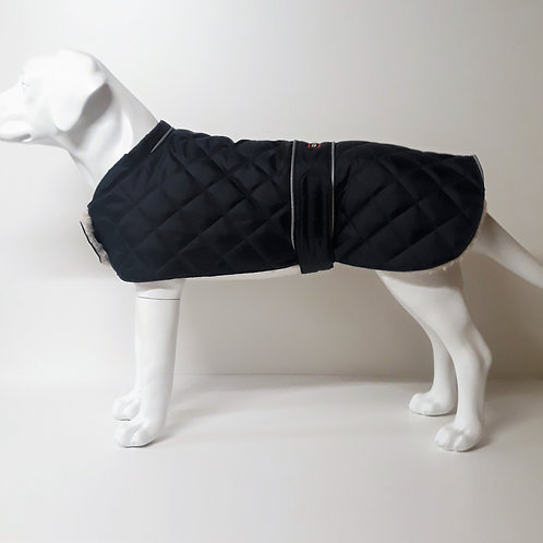 Quilted waterproof,Reflective Piping,Sherpa Fleece Lined coat From £12.99