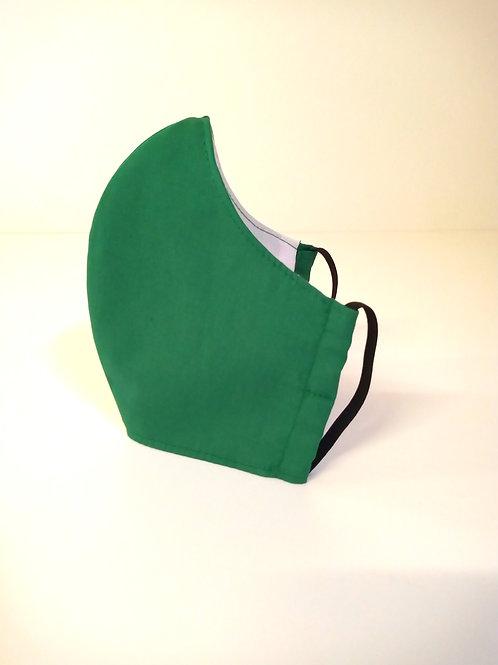 100% Cotton Face Mask Emerald