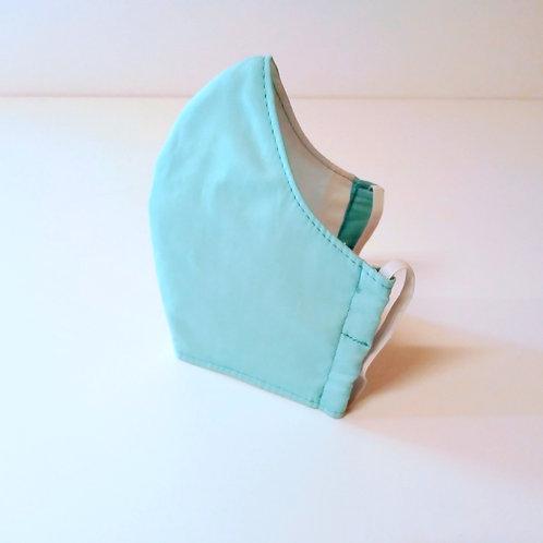 100% Cotton Face Mask Sky Blue