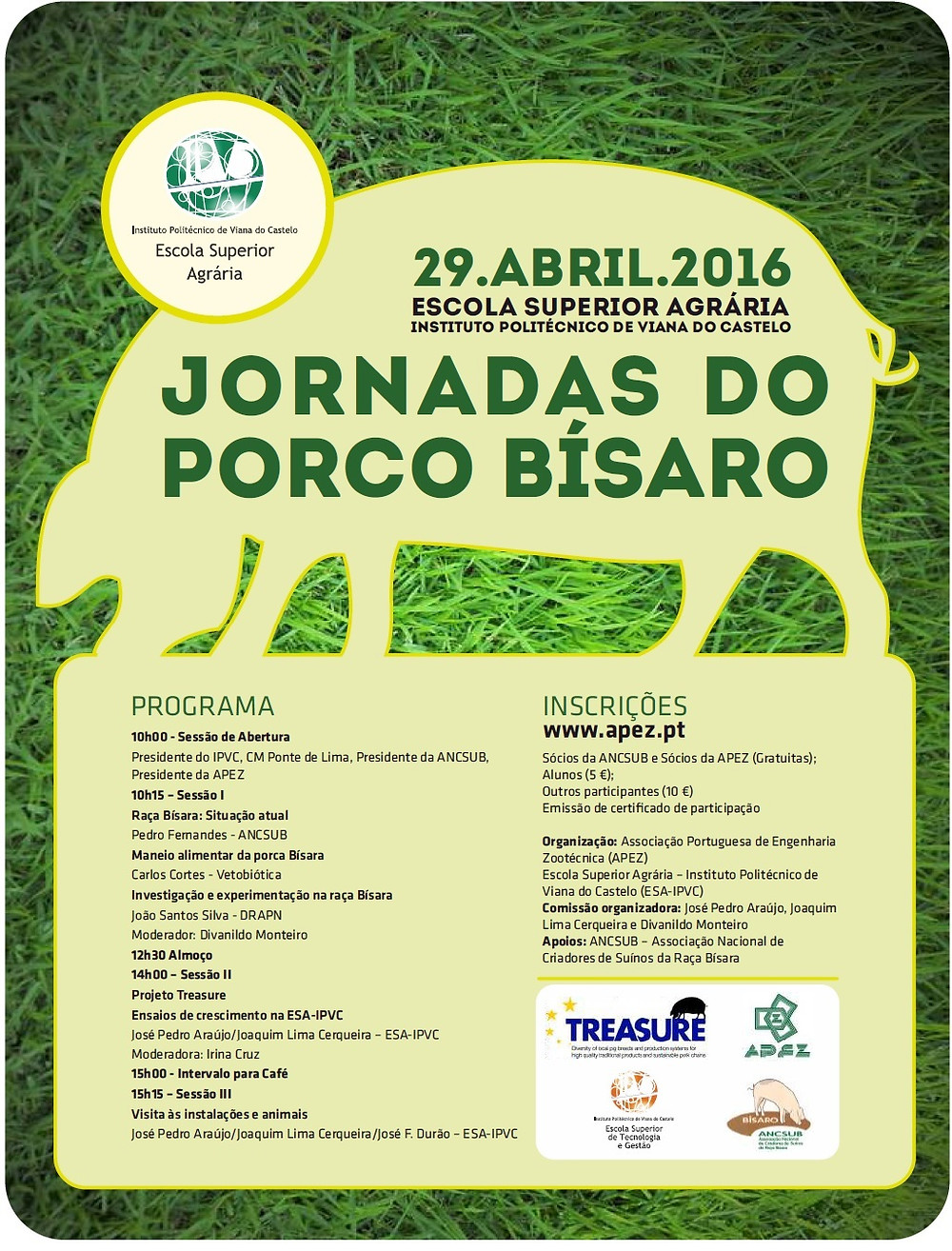Jornadas do porco Bísaro