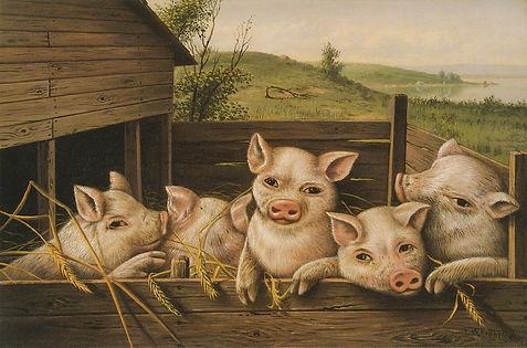 Levi Wells Prentice , Pig Pen