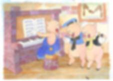 A história dos três porquinhos