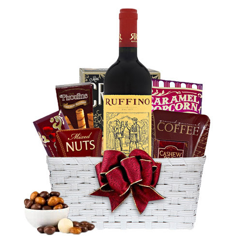 Splendid Gourmet Rose wine gift hamper