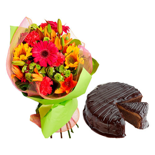 Gorgeous Flower Bouquet Surprise