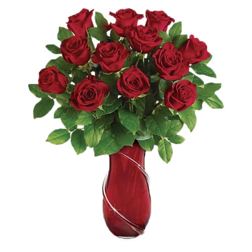 Infinite Roses Vase