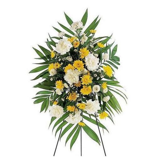 Flashing Arrangement of Flowers