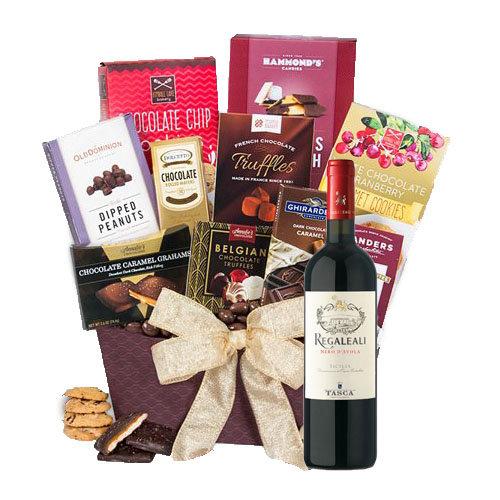 French Wine Gift Basket