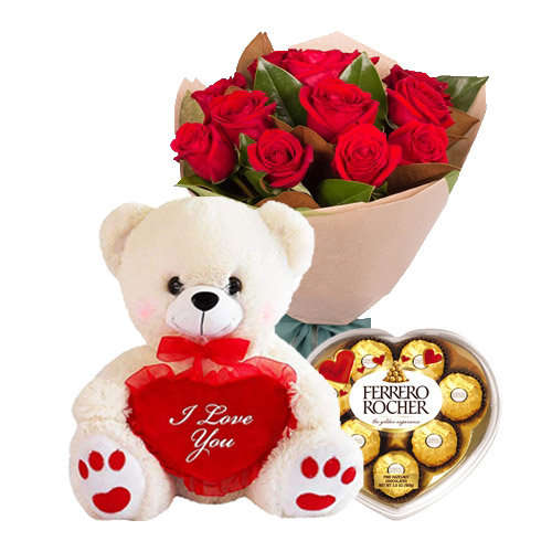 Red Roses Surprise