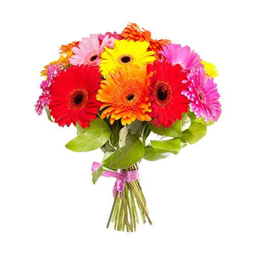 Glowing Gerberas Bouquet