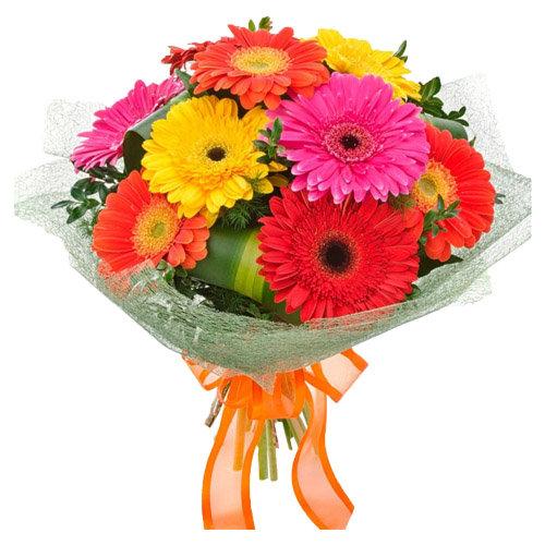 Joyous Bouquet Of Flowers