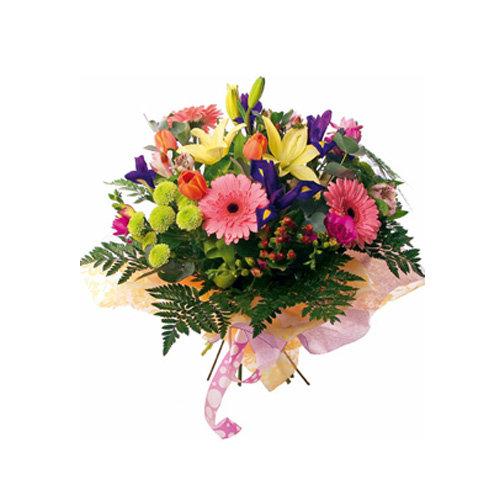 Beauteous Seasonal Flowers Bouquet