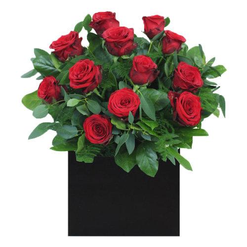 Exquisite Red Roses Arrangement