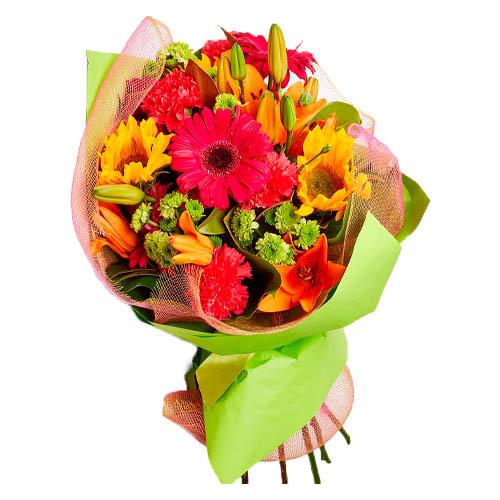 Magnificent Colorful Flower Bouquet