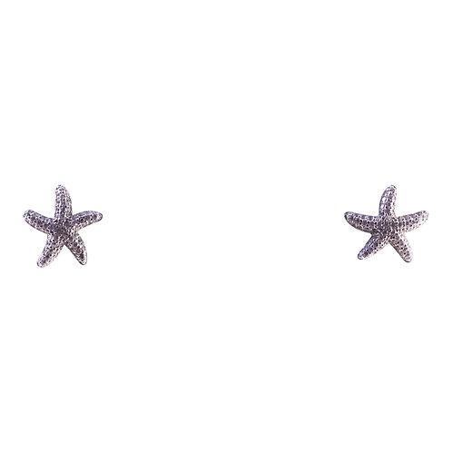 Starfish Cubic Zirconia Stud