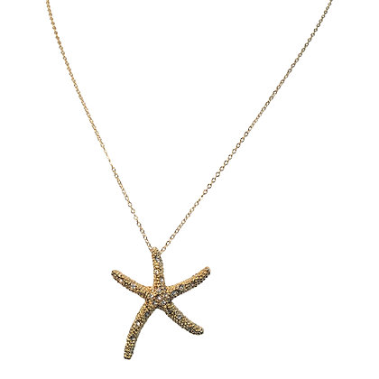 Large Gold Bling Starfish