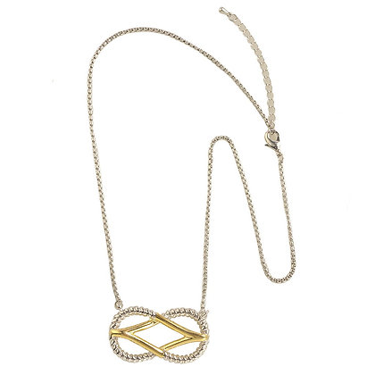 Square Knot Necklace