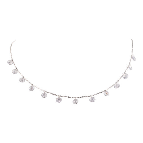 Sterling Silver CZ Droplets