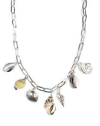Seashell Charm Necklace