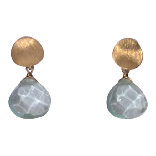 Blue Topaz Drop - additional stones