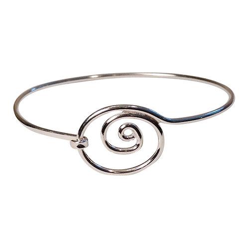 Simple Swirl Bracelet