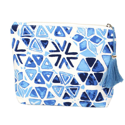 Cosmetic Bag - Abstract Print