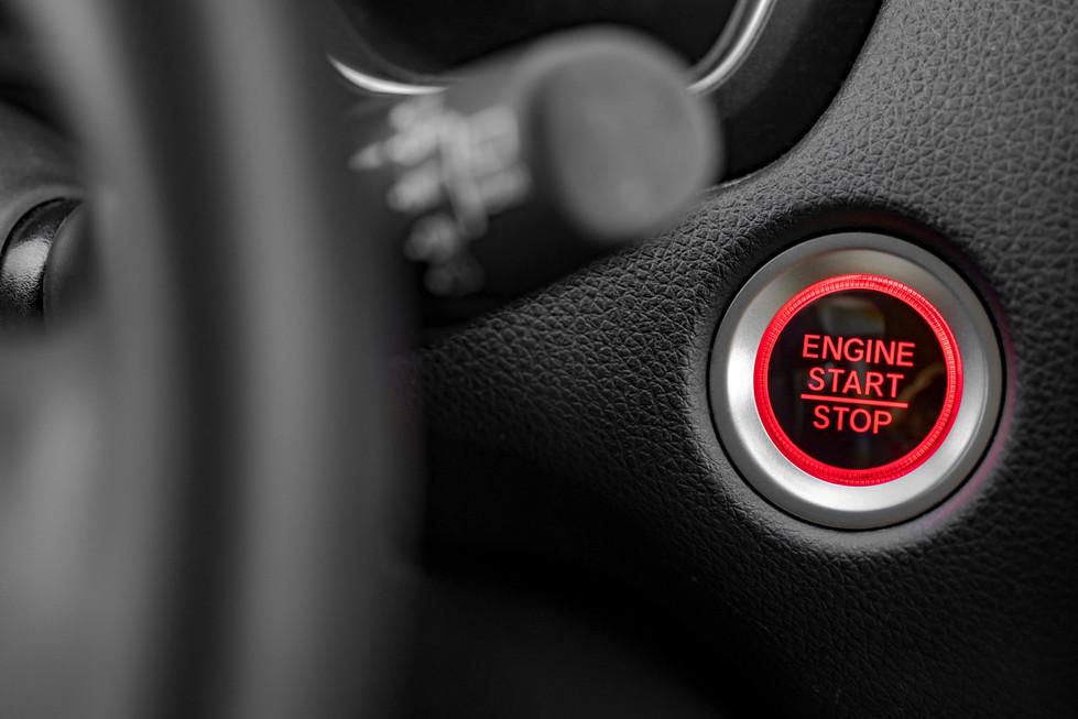5 - A l'arrêt, coupez votre moteur