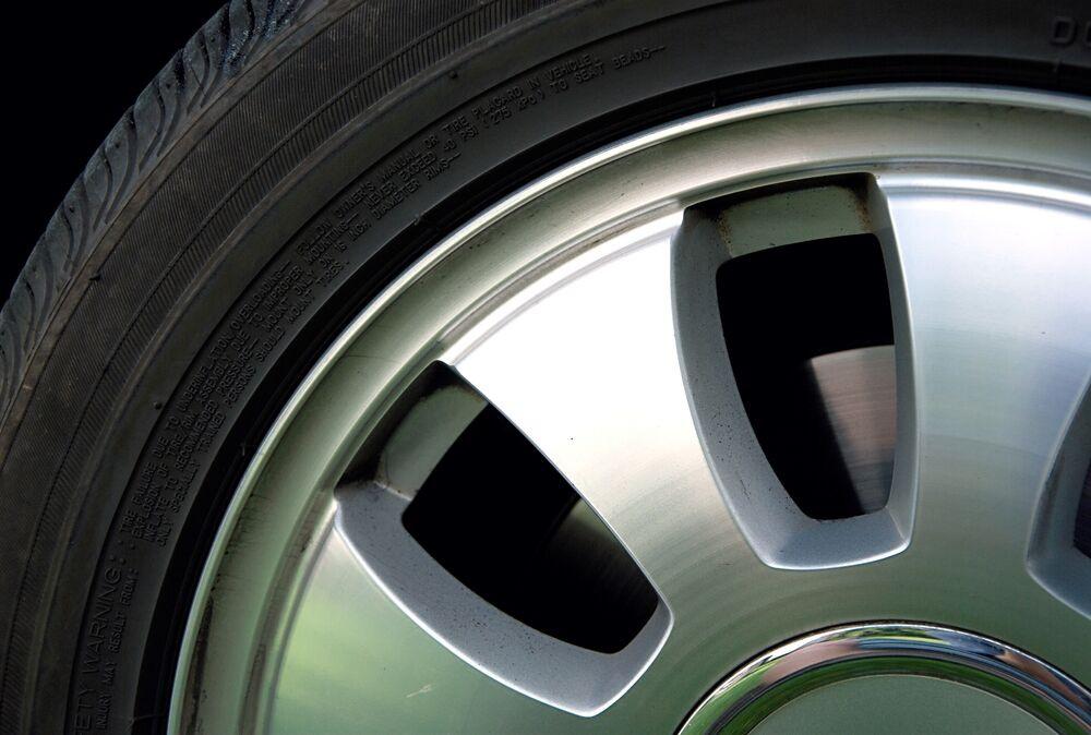 2 - Vérifiez la pression de vos pneus